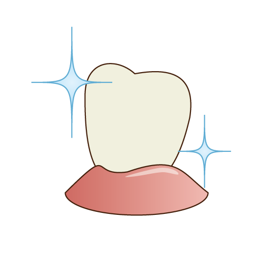 歯の「クリーニング」で歯の持つ本来の白さが蘇ります